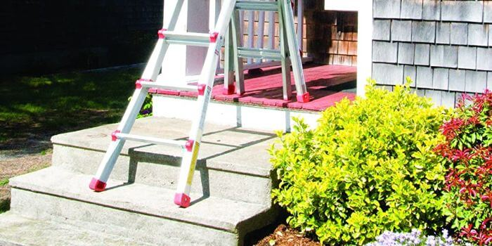 ladder for painting staircase